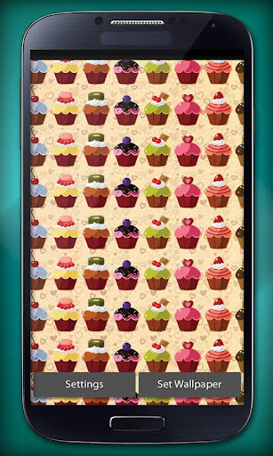 Cupcake Free Live Wallpapers