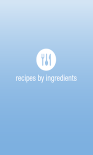 Recipes by Ingredients- screenshot thumbnail