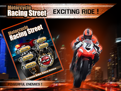 Motorcycle Racing Street