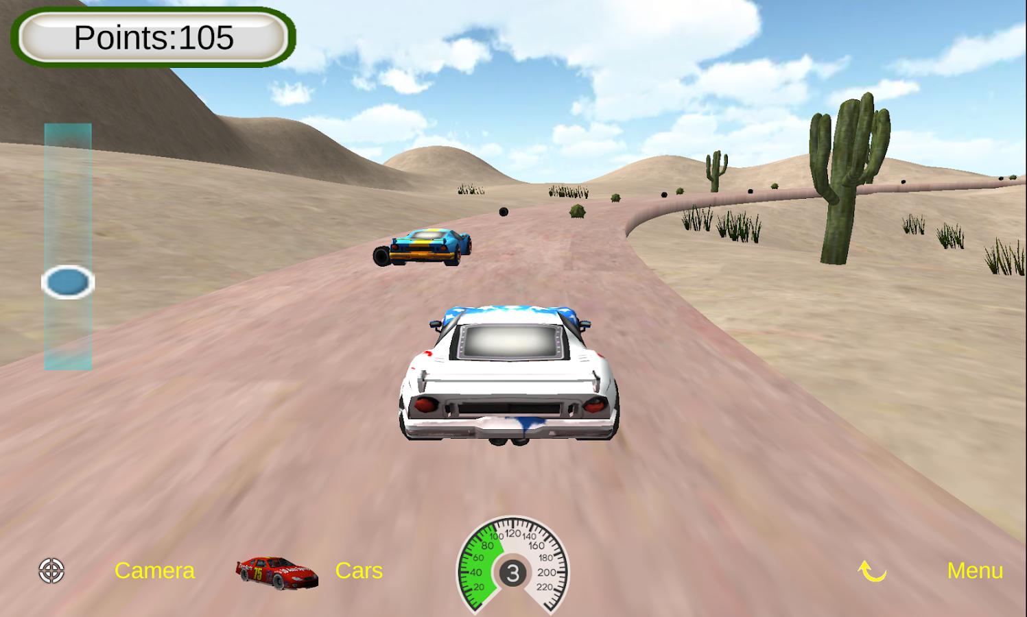kids car racers screenshot
