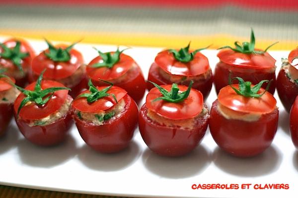 Italian Stuffed Cocktail Tomatoes Recipe