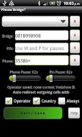 Screenshot of Phone Bridge