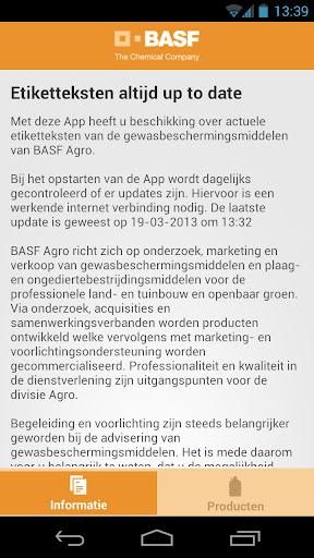 BASF producten
