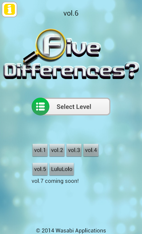 Five Differences? vol.6- screenshot