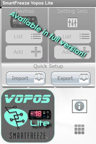 SmartFreeze Vopos Lite