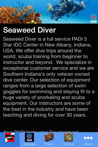 Seaweed Diver - Scuba Store