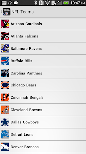 NFL Fantasy Football Advisor - screenshot thumbnail