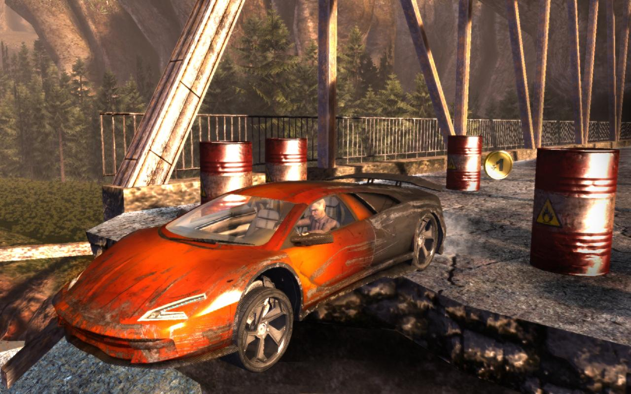 Flatout - Stuntman- screenshot