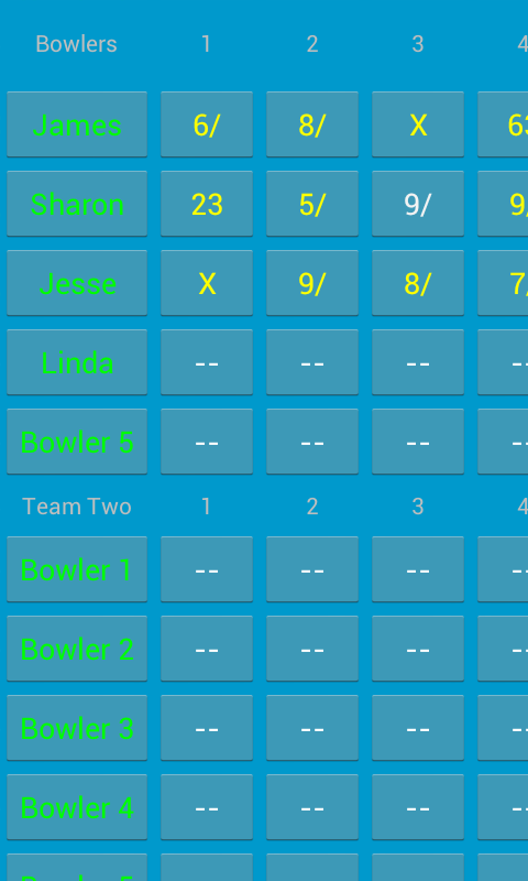 Bowling Speculator - screenshot