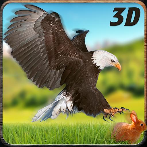 Wild Eagle Hunter Simulator 3D