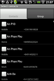 Group SMS Pro & Scheduler- screenshot thumbnail