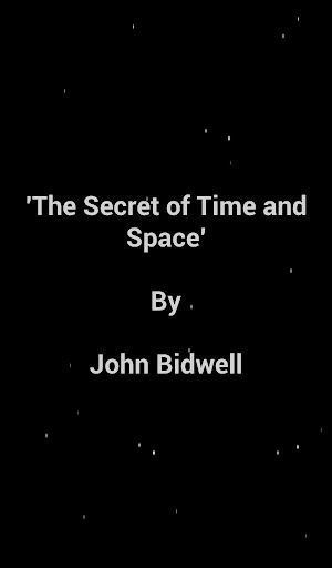 The Secret of Time and Space