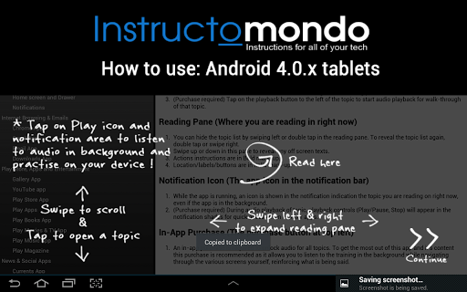How to use Android ICS Tablets