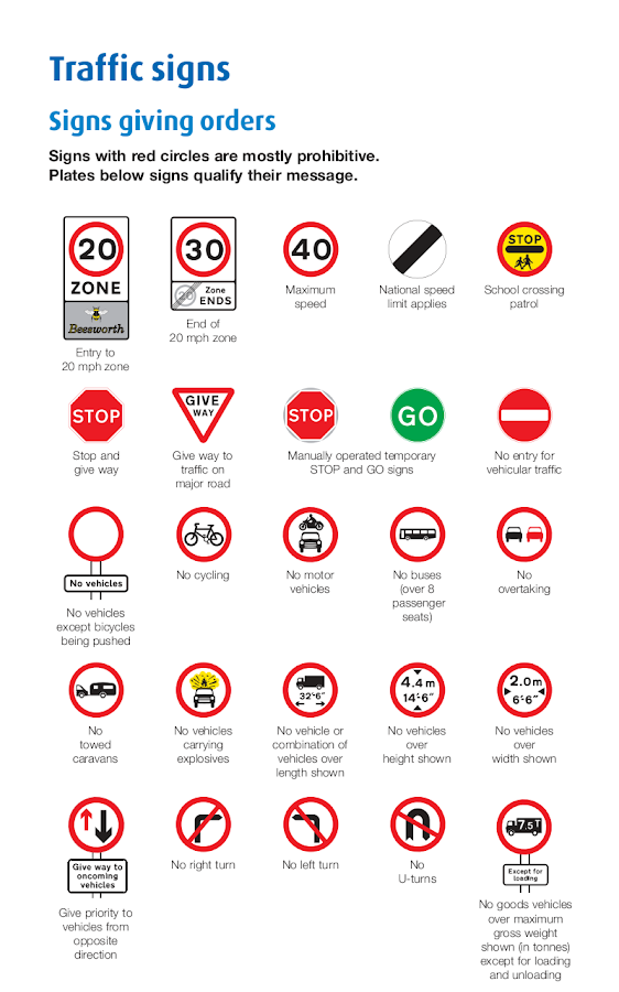 UK Motorcycle Theory Test - screenshot