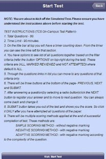 On Campus Test Simulator LITE- screenshot thumbnail