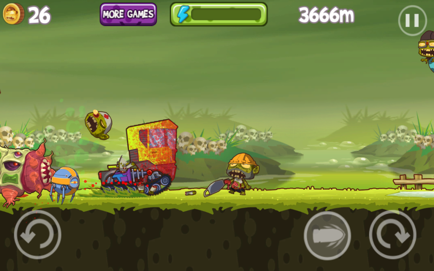 Mad Zombies: Road Racer - screenshot