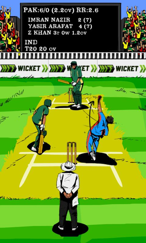 Hit Wicket Cricket World Cup - screenshot