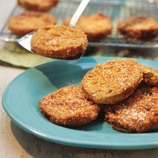 Crunchy Fried Green Tomatoes.