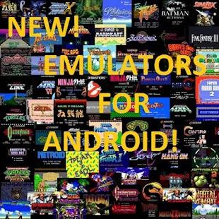 【免費娛樂App】New&Old Emulators for Android-APP點子