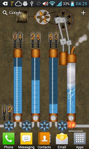 Steampunk Time Engine LWP