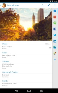 Contacts + - screenshot thumbnail