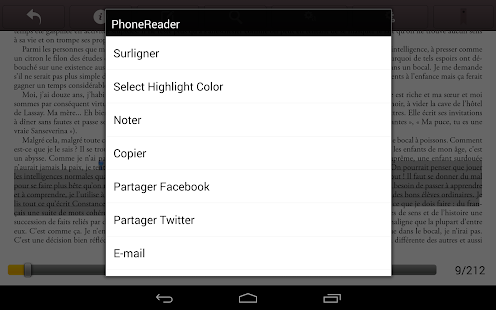 Phonereader- screenshot thumbnail