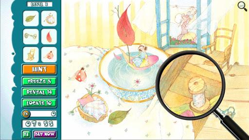 Hidden Object Jr Thumbelina