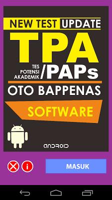 TPA OTO BAPPENAS - screenshot