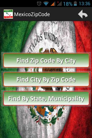 Mexico Zip Code