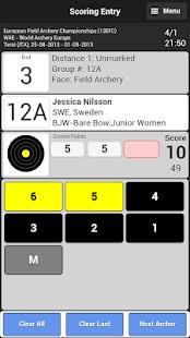 Ianseo Scorekeeper - náhled