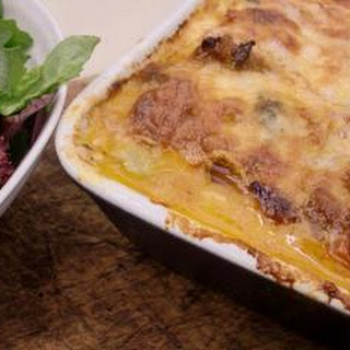 Pork, Taleggio And Broccoli Lasagne