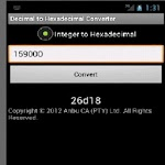 Super Decimal to Hexadecimal Apk