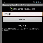 Super Decimal to Hexadecimal APK Descargar