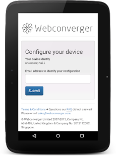 Webconverger Web Kiosk- screenshot thumbnail