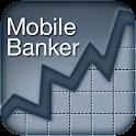 Mobile Banker (Rupee) logo
