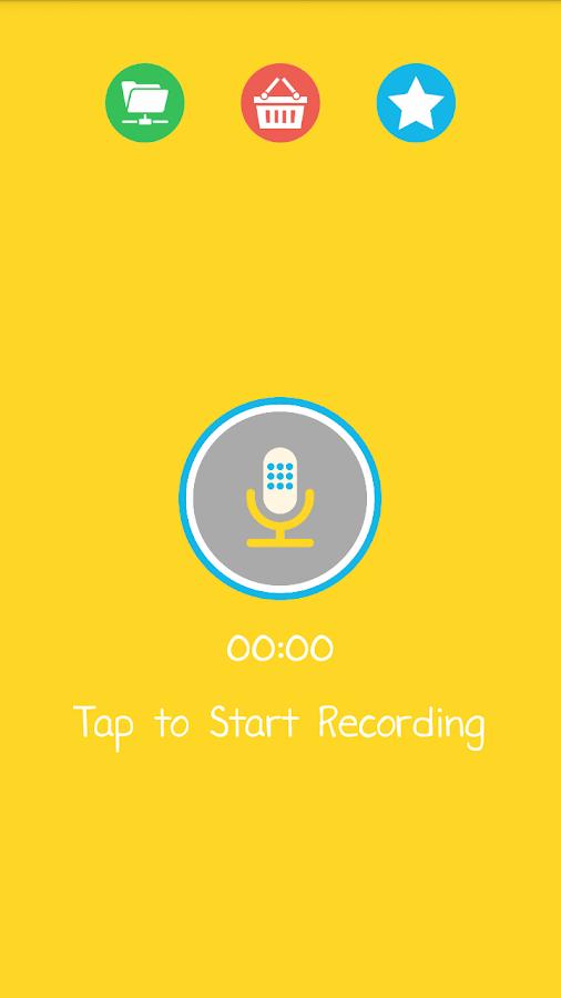 Voice Changer - screenshot