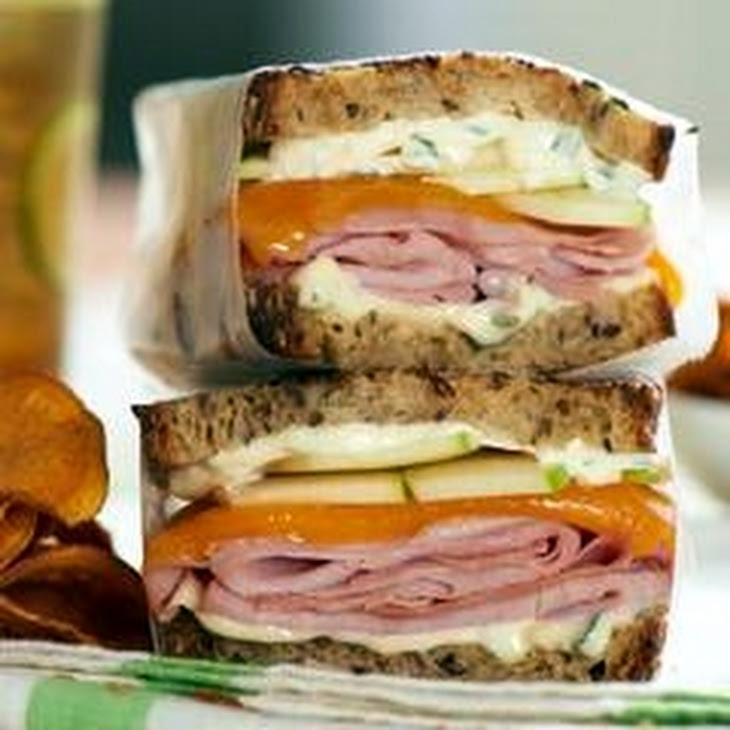Grilled Country Ham & Cheese Sandwiches