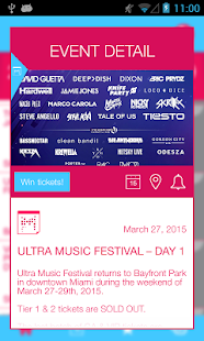 Miami Music Week 2015 Screenshot 3