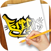 Download Learn to Draw Graffiti Art APK on PC