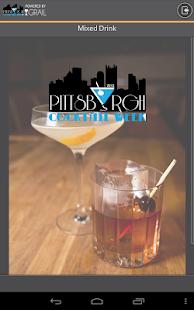 Pittsburgh Cocktail Week
