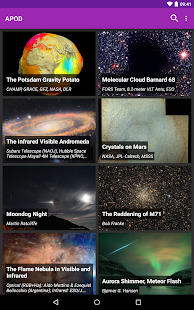 Astronomy Picture of the Day Screenshot