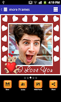 Screenshot of Insta Love Photo Frames