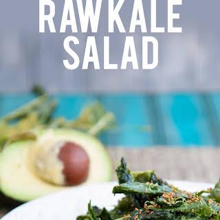 Super Simple Raw Kale Salad.
