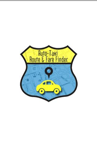 Auto-Taxi Route & Fare Finder - screenshot