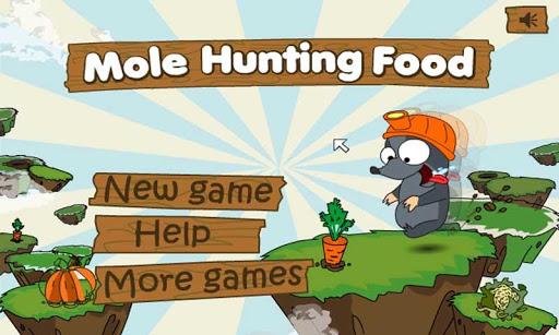 Mole Hunting Food