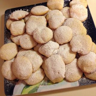 Super Easy Lemony Cream Cheese Cookies.