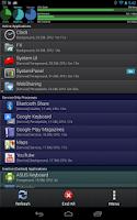 Screenshot of SystemPanelLite Task Manager