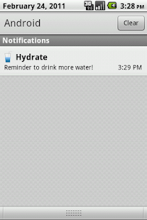 Hydrate- screenshot thumbnail