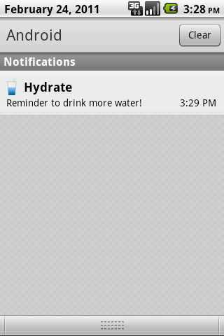 Hydrate- screenshot