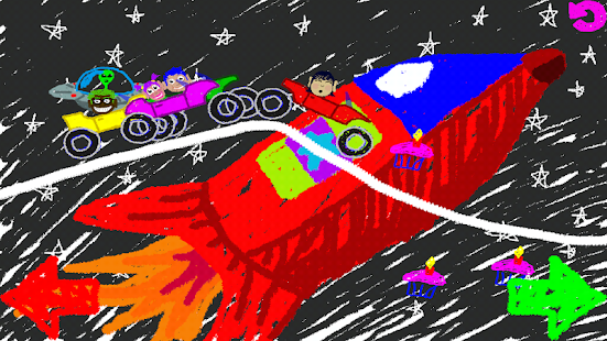 Scribble Scramble Racing- screenshot thumbnail